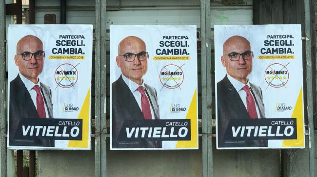Catello Vitiello: il massone in sonno candidato con il MoVimento 5 Stelle