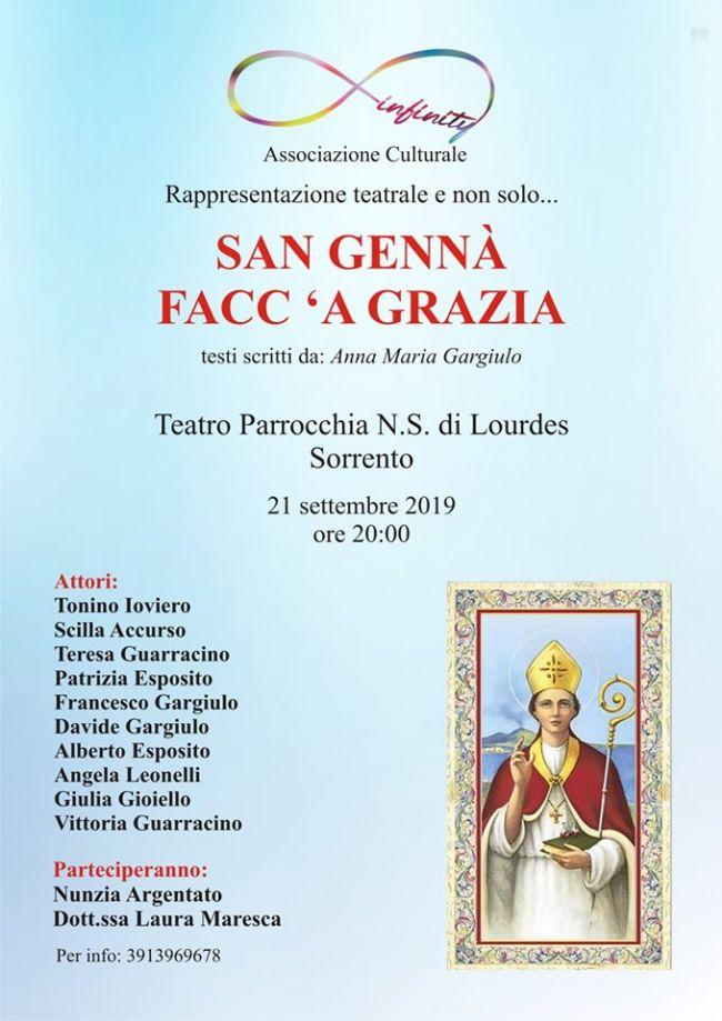 Risultati immagini per teatro della Parrocchia N.S. di Lourdes a Sorrento,