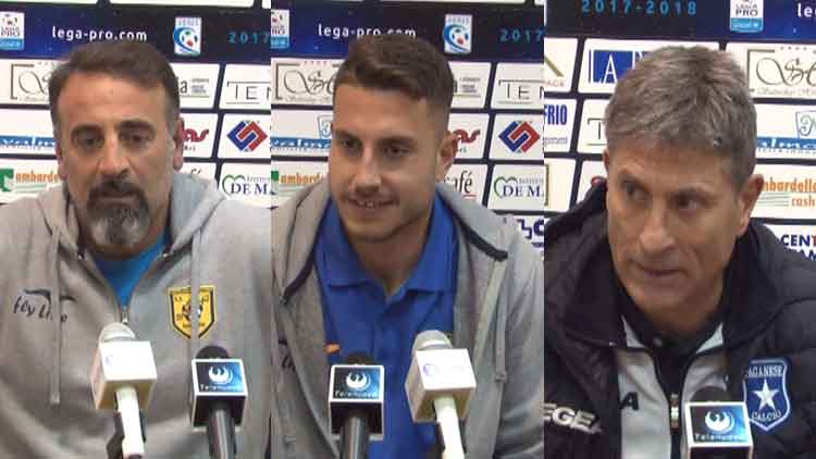 Paganese - Juve Stabia 1 a 0, le interviste