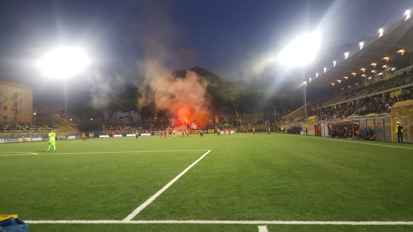 Juve Stabia - Virtus Entella 2 a 2, le foto da bordo campo